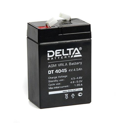 Аккумулятор 4V 4.5Ah DT 4045 DELTA