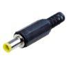 Штекер (116) DC 5.0 x 1.0 pin x 9.5 мм реверс