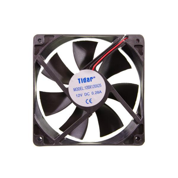 Вентилятор 120x120x25  12VDC/0.28A