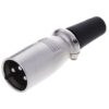 Штекер (148) XLR 3-pin на кабель Ni