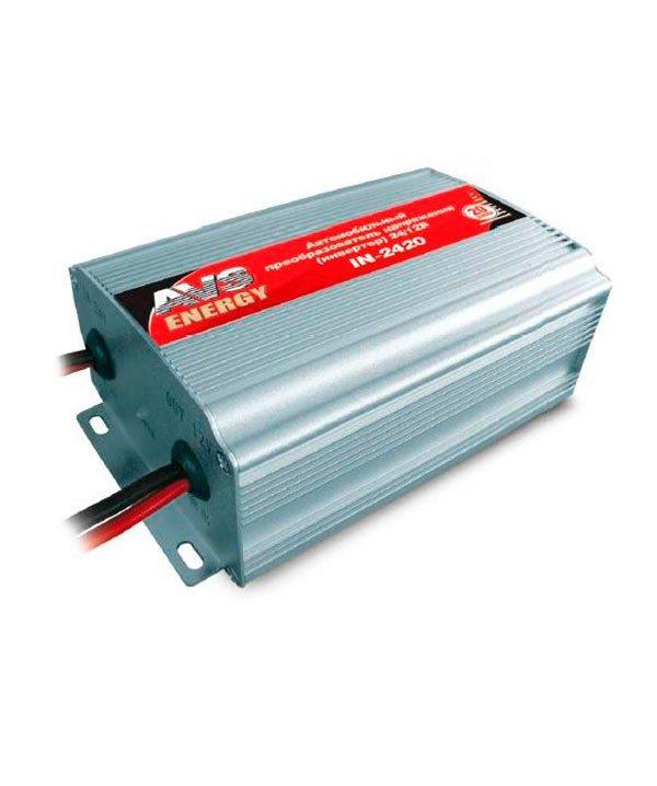 Автомобильный инвертор 24/12V AVS IN-2420 (20A)