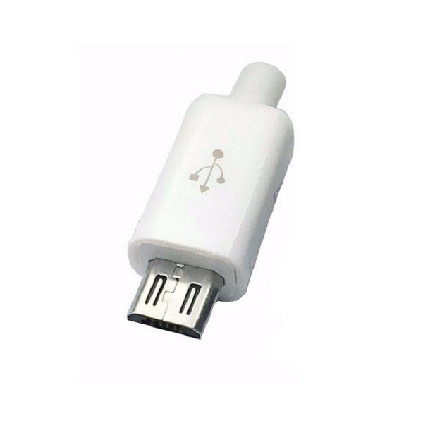Штекер (169) Micro USB-B 5-pin  Ni/Pl -черный-