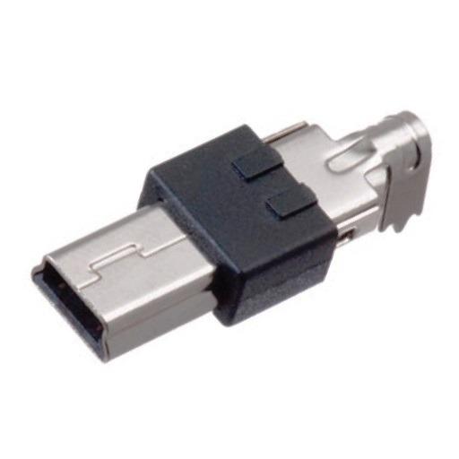 Штекер (171) Mini USB-B 5-pin пайка б/к