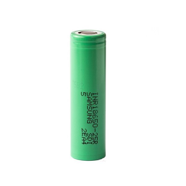 Аккумулятор 18650-25R Li-lon 2500mA Высокая токоотдача 20A SAMSUNG INR