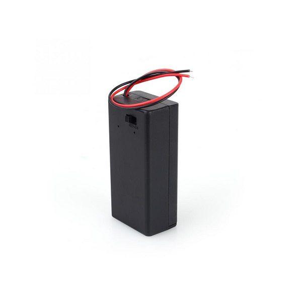 Батарейный отсек AA 1x1 кейс OFF-ON провод 150 мм