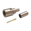 Штекер (226) FМЕ на кабель RG58/U обжим  Ni/Gold pin/Delrin