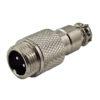 Разъем (241) M12 штекер miniMIC 2-pin на кабель 125V/5А