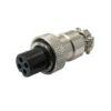 Разъем (243) M12 гнездо miniMIC 4-pin на кабель 125V/5А