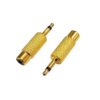 Переходник (275) шт. 3.5 мм моно - гн. RCA Gold