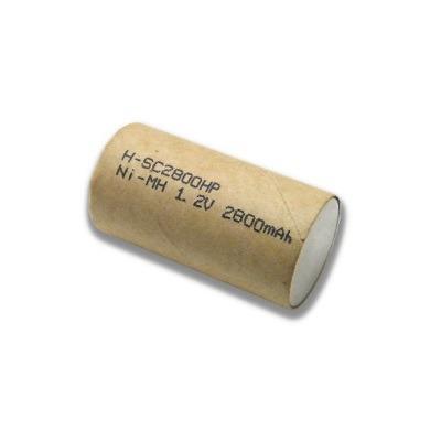 Аккумулятор SC2800HP 2800mA 23*43 ДЛЯ ШУРУПОВЕРТОВ Ni-MH HIGH RATE