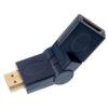 Переходник (293/1) A-7013 HDMI A(M)-HDMI A(F) ПОВОРОТНЫЙ PERFEO