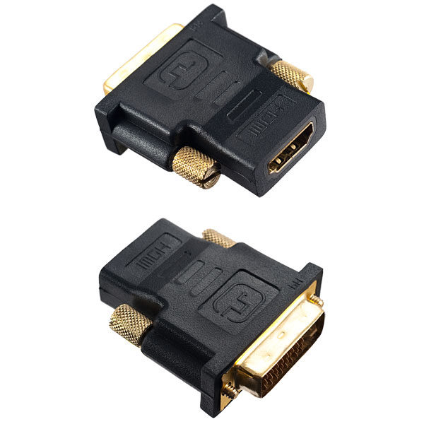 Переходник (295) A-7004 HDMI A(F)-DVI-D(M) PERFEO
