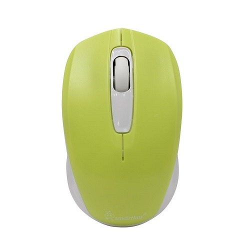 Мышь беспроводная 331AG-LW ЖЕЛТАЯ/БЕЛАЯ USB SMART BUY