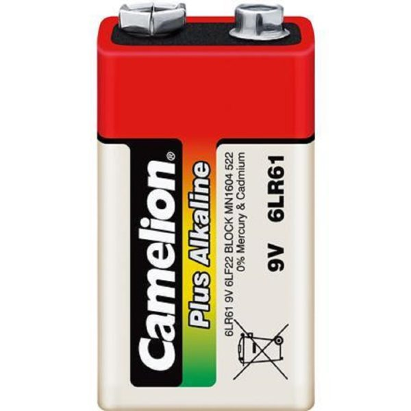 Элемент питания 6LF22 (КРОНА-ALKALINE) CAMELION