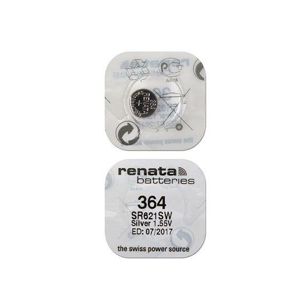 Элемент питания SR621SW (364) RENATA