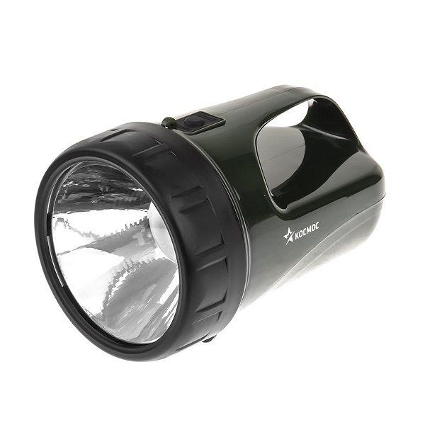 Фонарь аккумуляторный Accu368LED,супер мощный LED 3W КОСМОС