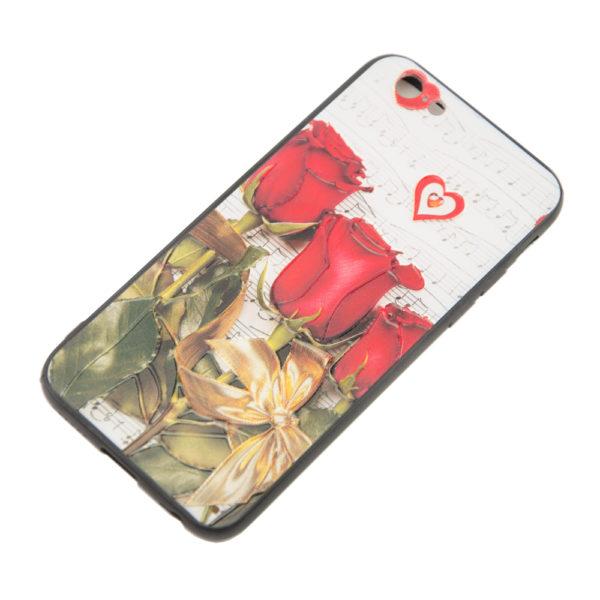 Чехол iPhone 6G бампер ЦВЕТОЧКИ
