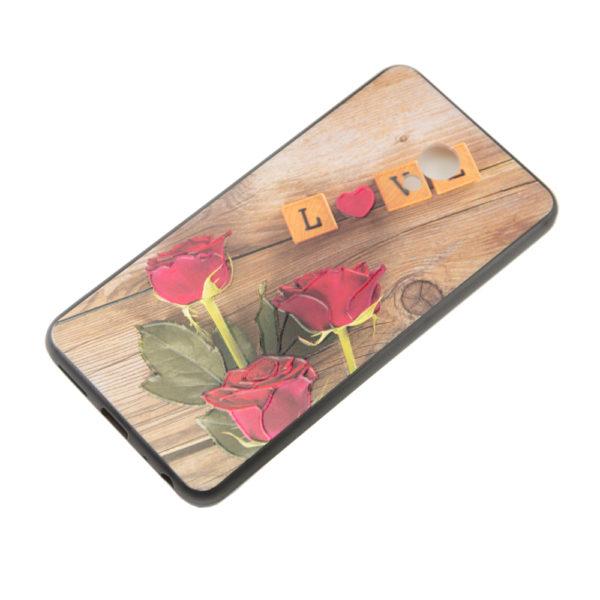Чехол Redmi Note 5S бампер ЦВЕТОЧКИ