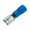 Клемма (390) FDD2-187 гнездо 4.75х0.8 мм (1.5-2.5mm) -синий-