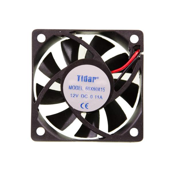 Вентилятор  60x60x15  12VDC/0.11A