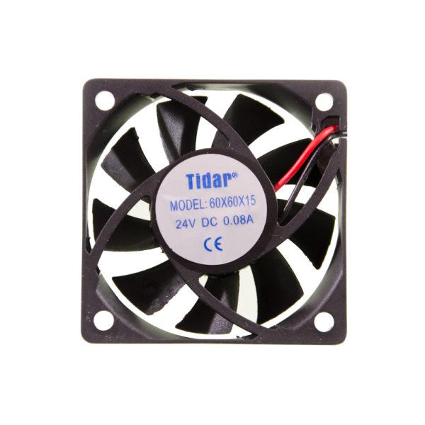 Вентилятор  60x60x15  24VDC/0.08A