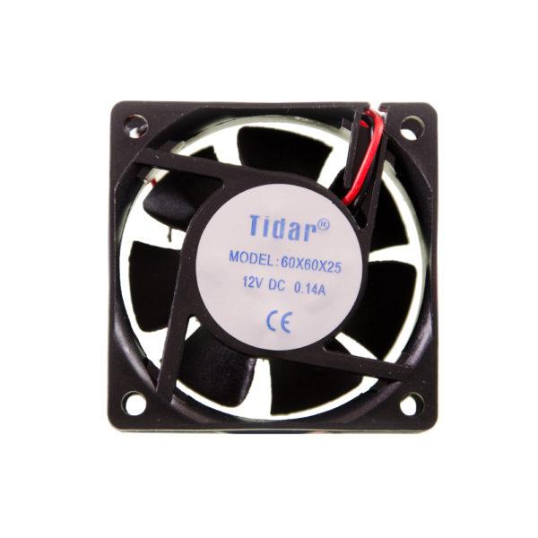 Вентилятор  60x60x25  12VDC/0.14A