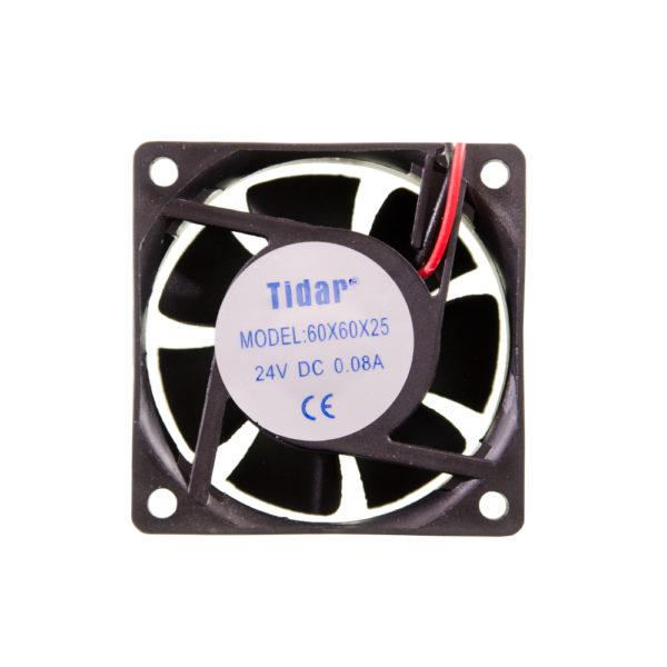 Вентилятор  60x60x25  24VDC/0.08A