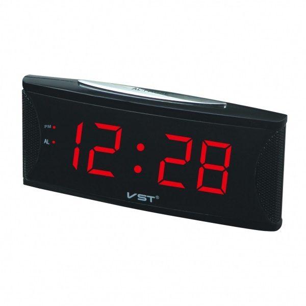 Часы VST-719-1 НАСТОЛЬНЫЕ ЭЛЕКТРОННЫЕ КРАСНЫЕ