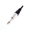 Штекер (73) 6.35 мм стерео  Ni/Pl/Gold pin