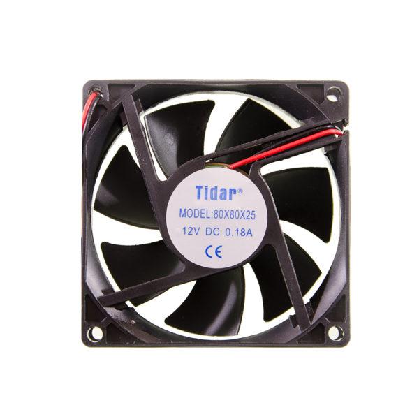 Вентилятор  80x80x25  12VDC/0.18A