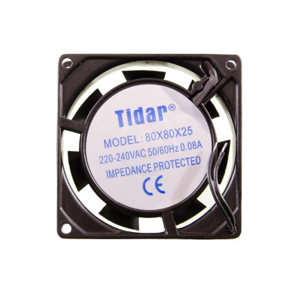 Вентилятор  80x80x25  220V/0.08A
