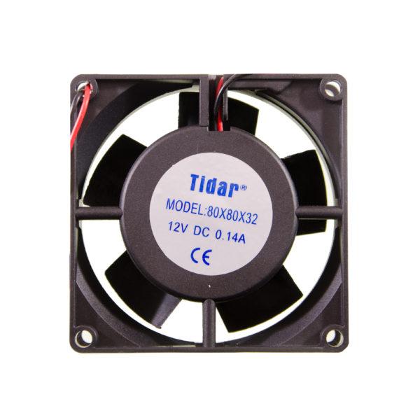 Вентилятор  80x80x32  12VDC/0.14A
