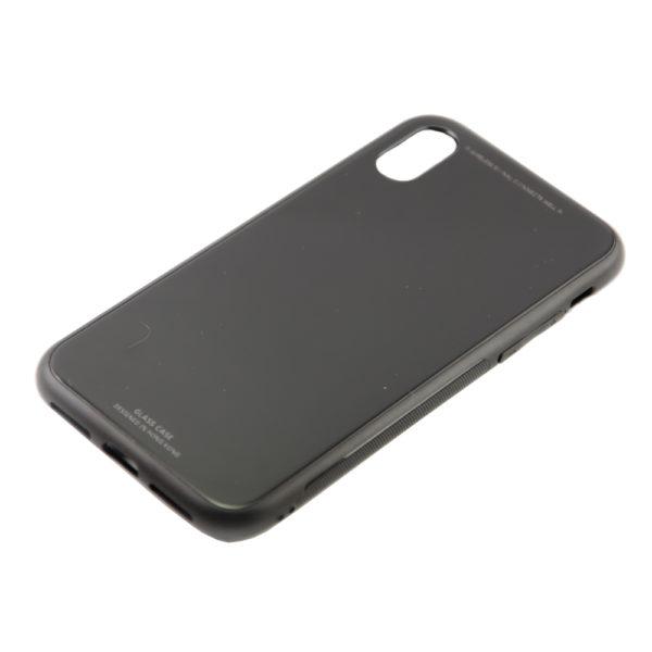 Чехол iPhone X бампер стекло
