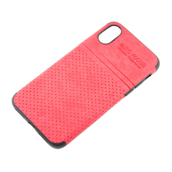 Чехол iPhone X бампер кожа