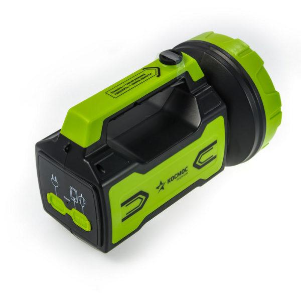Фонарь аккумуляторный  KOSMOS PREMIUM 10W LED КОСМОС