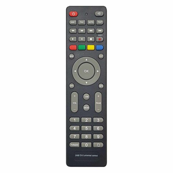 ПДУ Универсальный для ТВ приставок DN300 (DVB-T2+3) Huayu