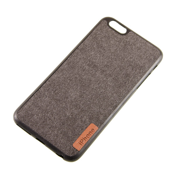 Чехол iPhone 6Pluse бампер Джинс