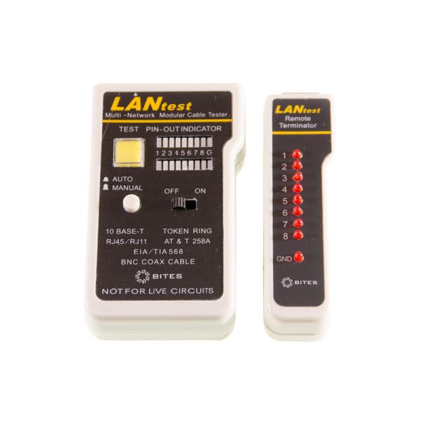 Тестер кабеля LY-CT007 ДЛЯ UTP/STP RJ45, BNC, RJ11/12 5bites