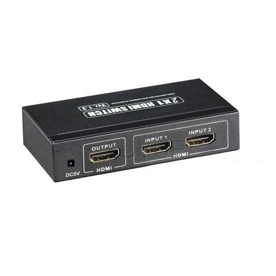 """Переходник Переключатель  2 x HDMI """"ВХОД"""" - 1 x HDMI """"ВЫХОД"""""""