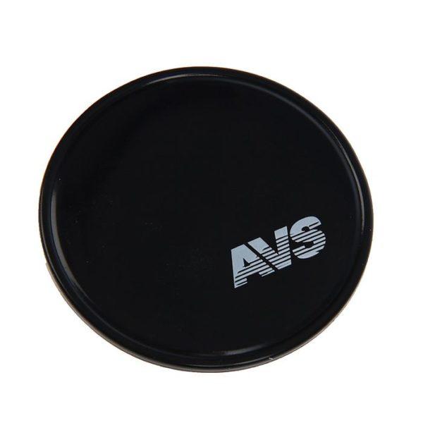 Противоскользящий NANO коврик NP-004 (круглый, диаметр 10 см.) чёрный AVS