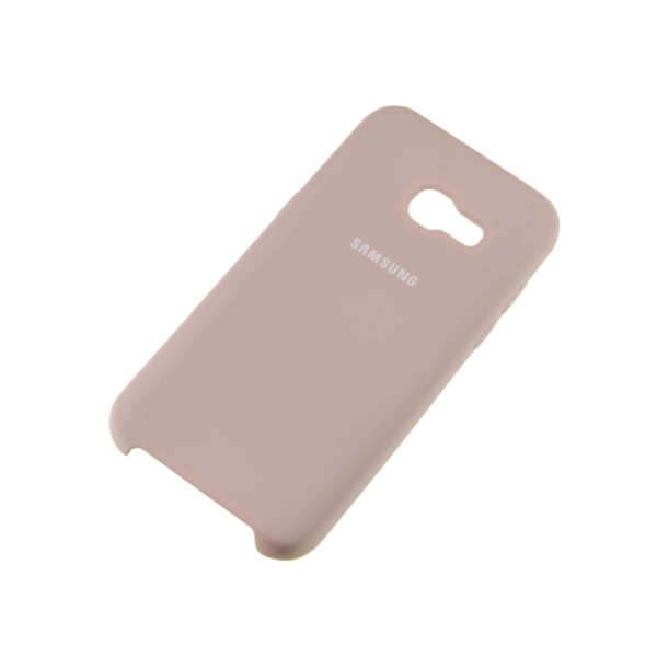 Чехол Samsung A3 (2017) бампер Silicone Cover