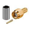 Штекер RP-SMA на кабель RG58/U обжим  Gold/Gold pin/Teflon