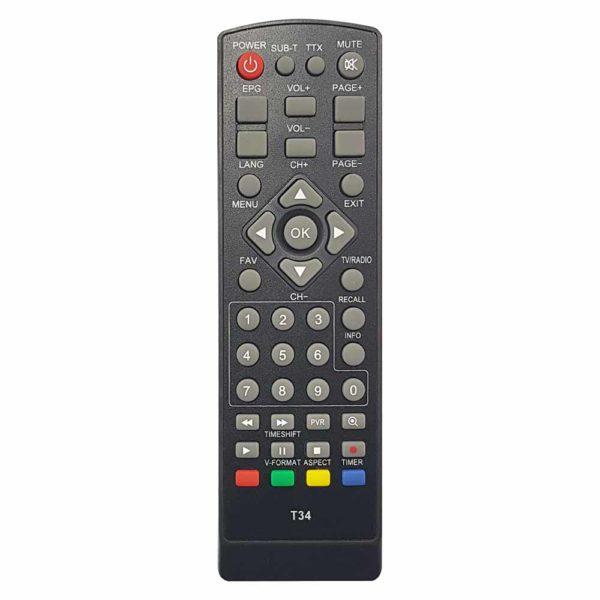 ПДУ World Vision WV T34 DVB-T2 (Sky Vision T2202 HD) Эфир HD-500