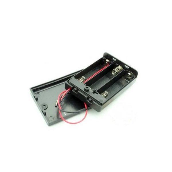 Батарейный отсек AA 3x1 кейс OFF-ON провод 150 мм