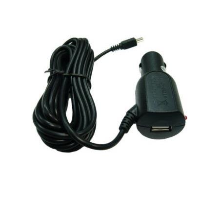 Шнур питания в прикуриватель mini USB Орбита AV-1026 (3м, 2000mA, гнездо USB)/200