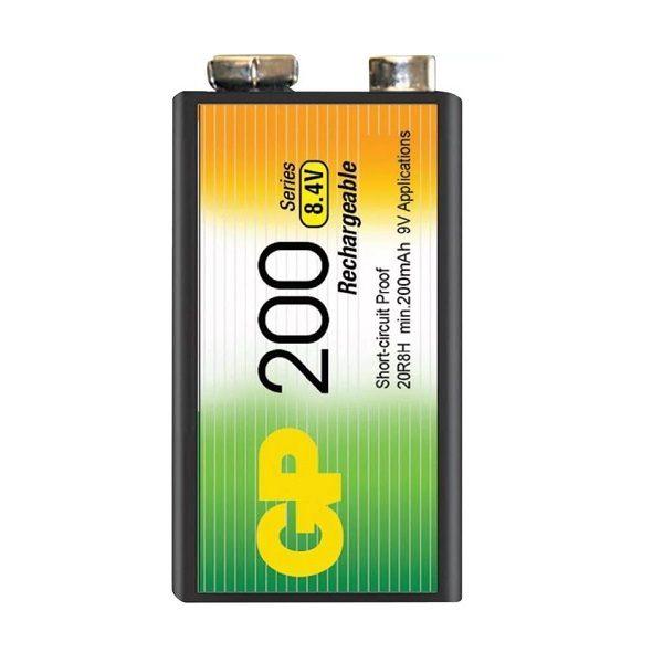 Аккумулятор 6F22 (КРОНА) (200 mAh) GP