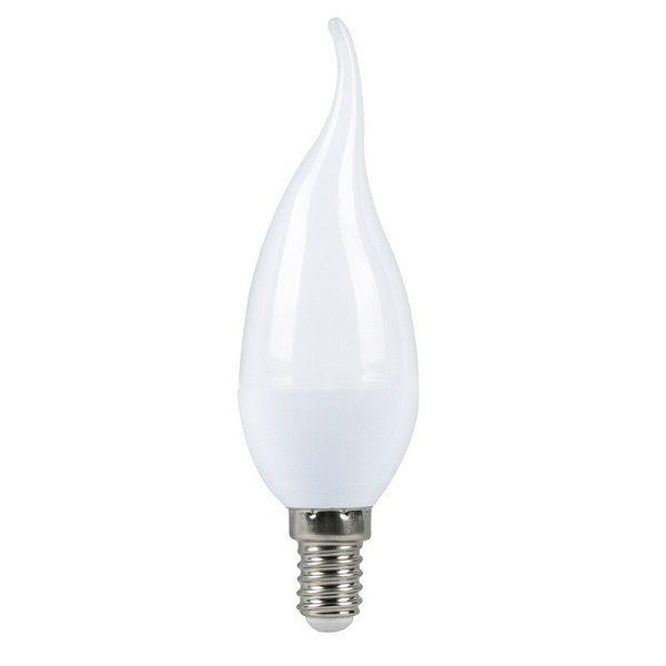 Светодиодная лампа (L17) C37 7W 3000K/E14 ( Свеча на ветру / Тёплый свет ) SMART BAY