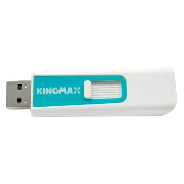 ФЛЭШ-КАРТА  KINGMAX  64GB PD-06 БЕЛАЯ ВЫДВИЖНОЙ USB 2.0