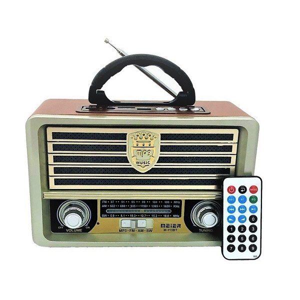 Радиоприемник MEIER M-113BT БЕЛЫЙ