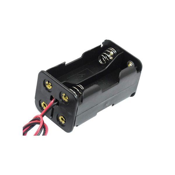 Батарейный отсек AA 2х1+2x1 провод 150 мм
